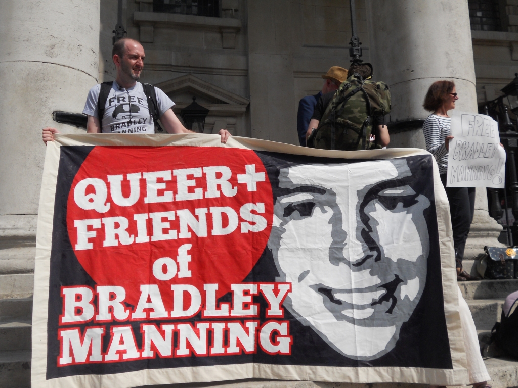 Thanks to BradleyLibero for this lovely picture of our banner! (Some rights reserved)