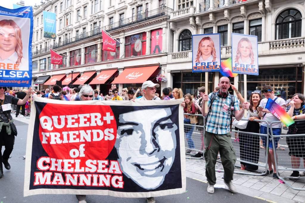 Shouting for Chelsea outside of Hamleys!