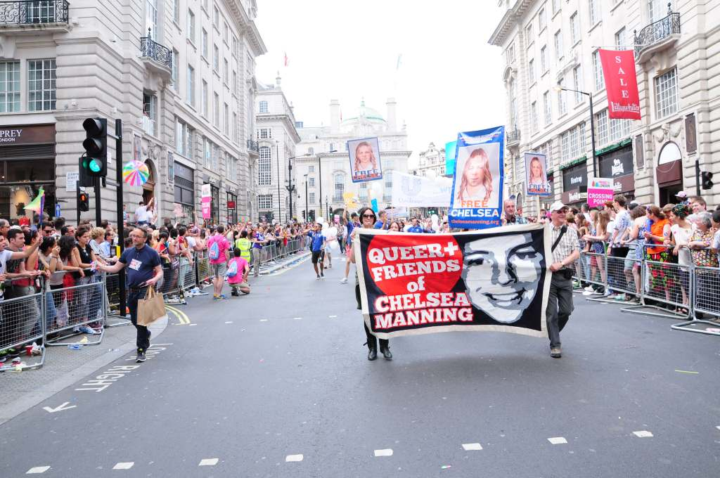 Heading down Piccadilly